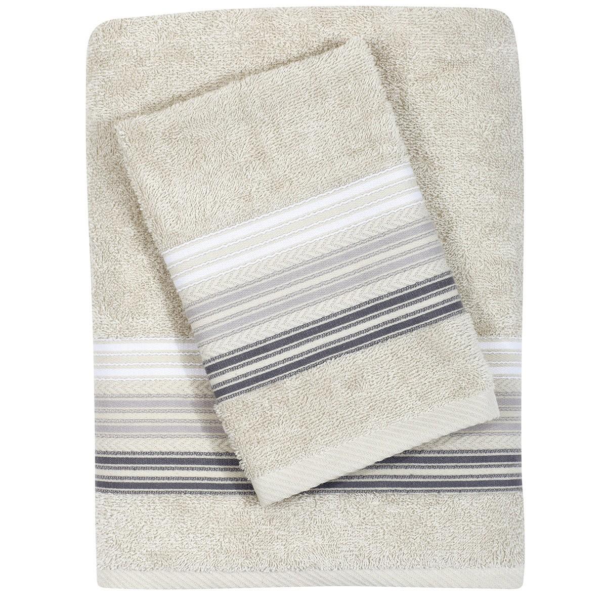 Πετσέτες Μπάνιου (Σετ 3τμχ) Das Home Best 345
