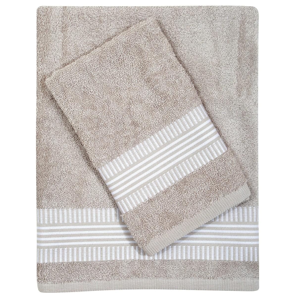 Πετσέτες Μπάνιου (Σετ 3τμχ) Das Home Best 346 89996