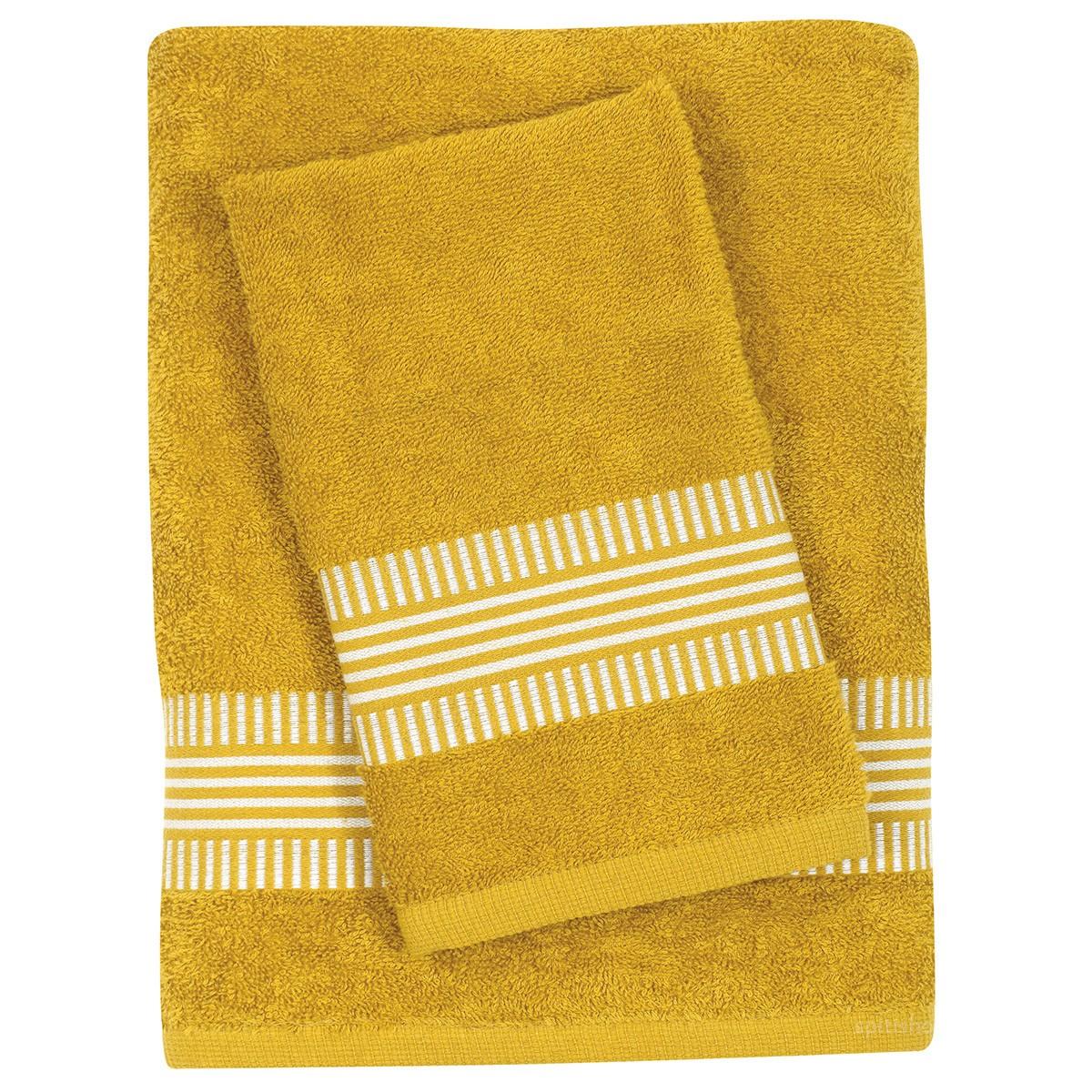 Πετσέτες Μπάνιου (Σετ 3τμχ) Das Home Best 347