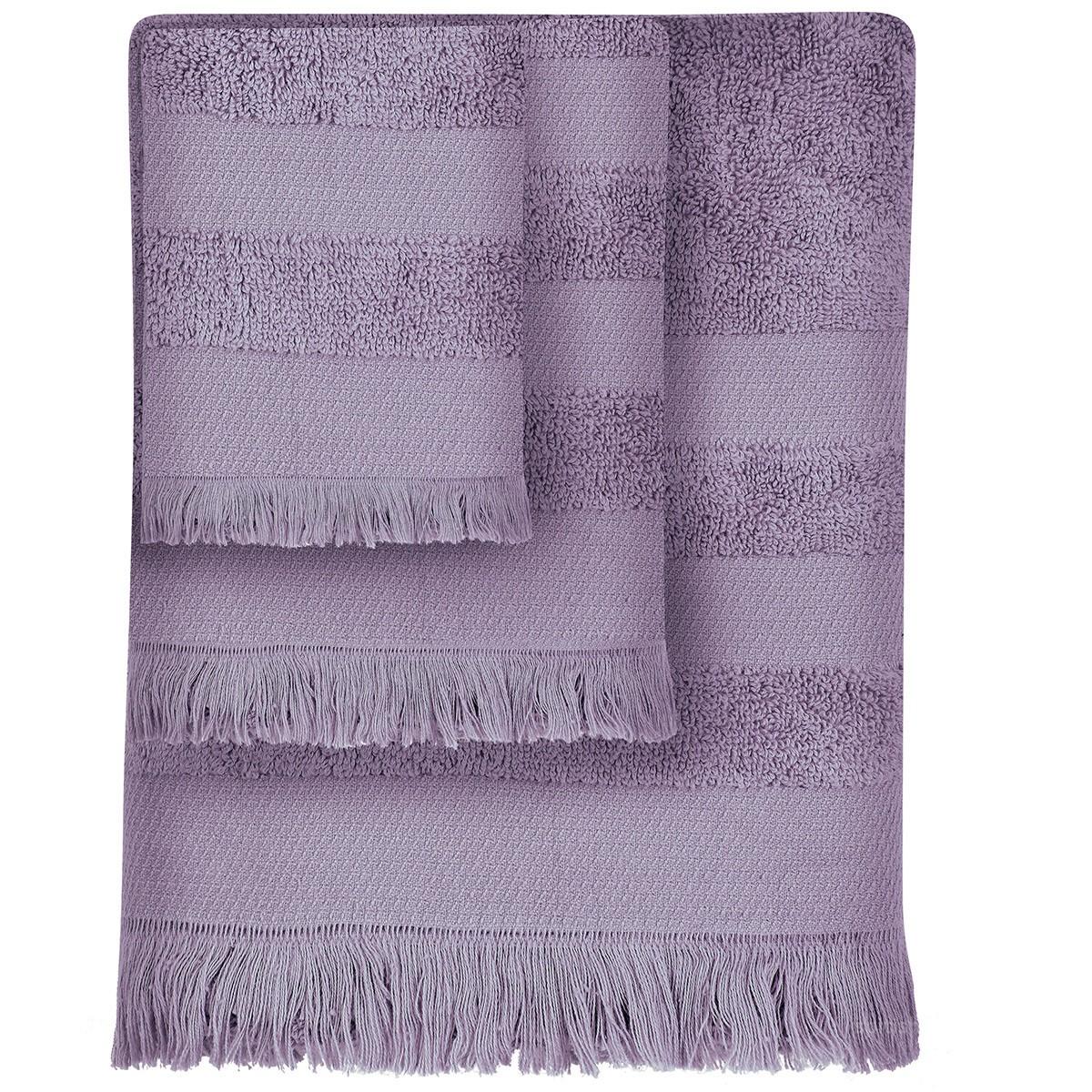 Πετσέτες Μπάνιου (Σετ 3τμχ) Das Home Simple 349