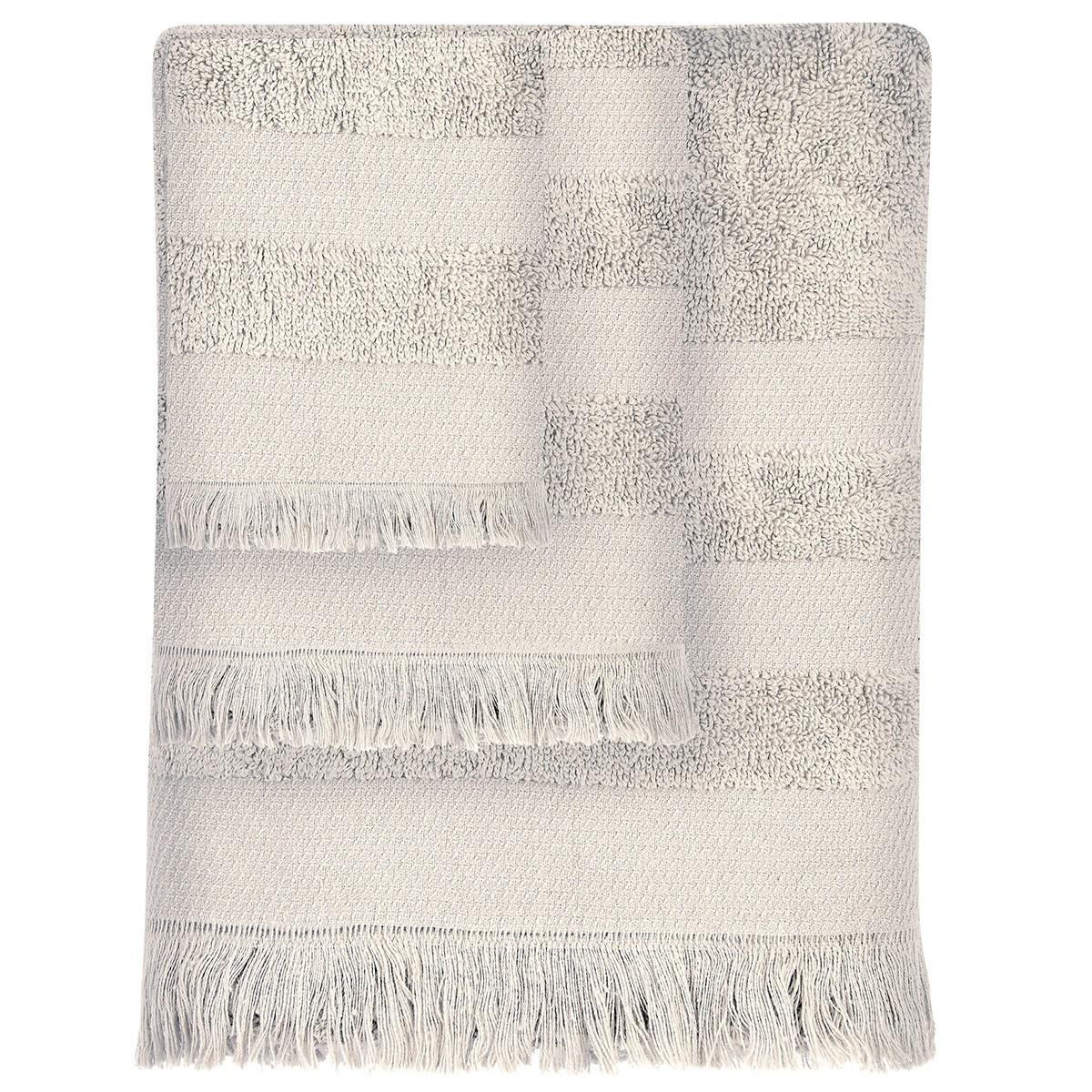 Πετσέτες Μπάνιου (Σετ 3τμχ) Das Home Simple 350