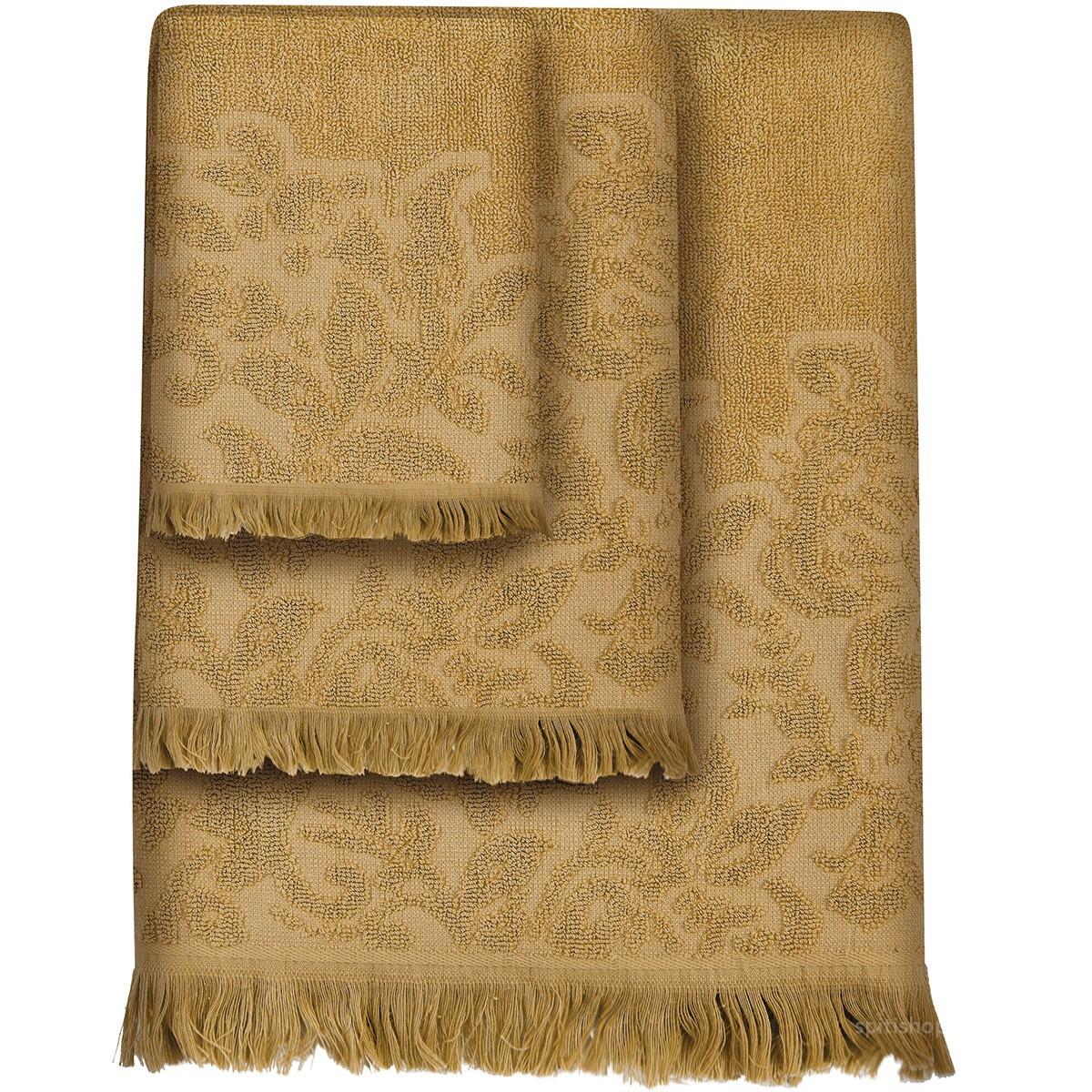 Πετσέτες Μπάνιου (Σετ 3τμχ) Das Home Simple 354