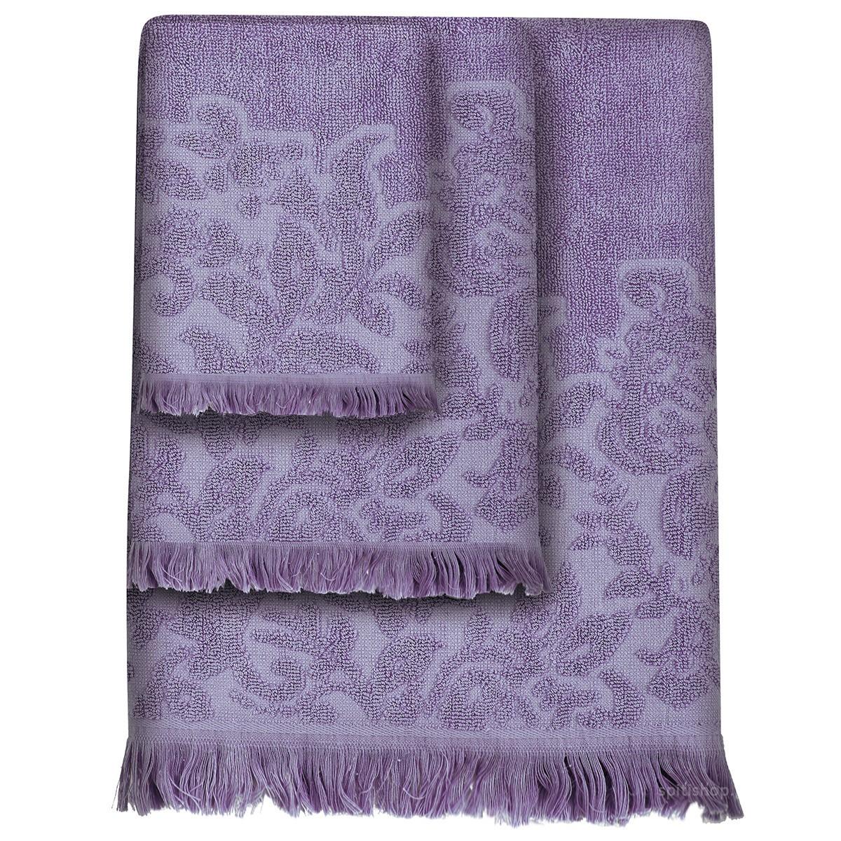 Πετσέτες Μπάνιου (Σετ 3τμχ) Das Home Simple 355