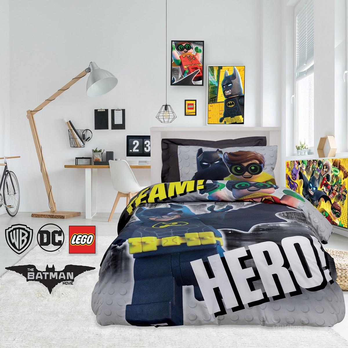 Κουβερλί Μονό (Σετ) Das Home Lego Batman 5004