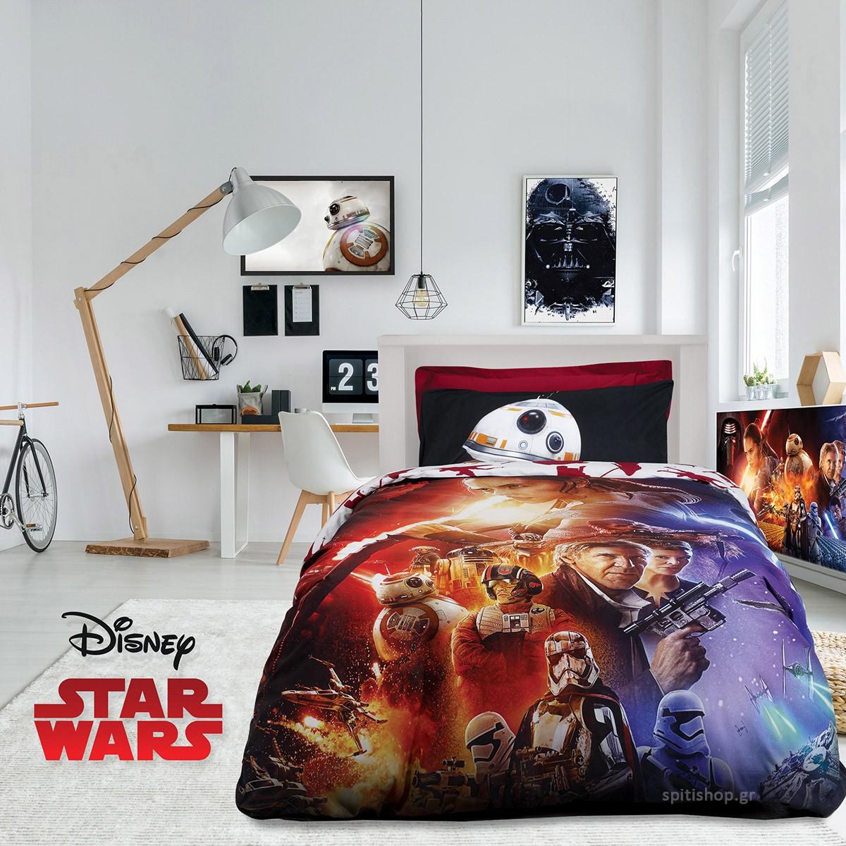 Κουβερλί Μονό (Σετ) Das Home Star Wars 5007