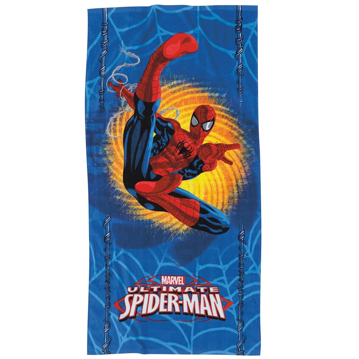 Παιδική Πετσέτα Θαλάσσης Das Home Spiderman Ulti 5801