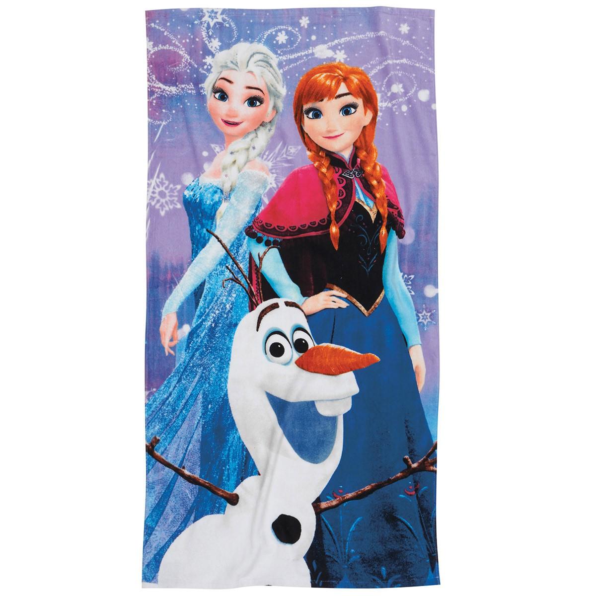 Παιδική Πετσέτα Θαλάσσης Das Home Frozen World 5804