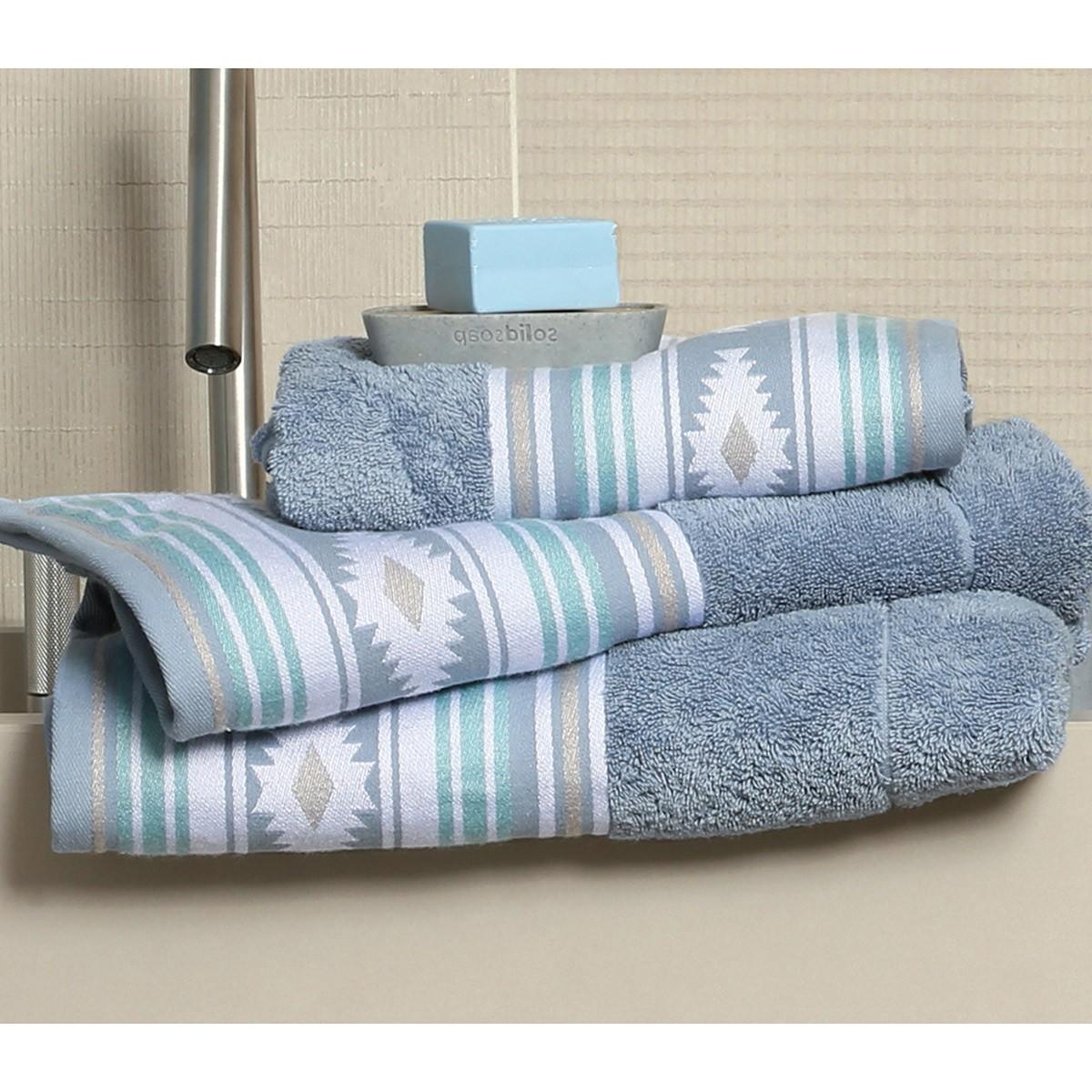 Πετσέτα Προσώπου (50x90) Nef-Nef Attention Jean home   μπάνιο   πετσέτες μπάνιου