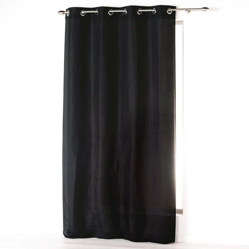Κουρτίνα (140x260) Με Τρουκς L-C Absolu Noir 1607236