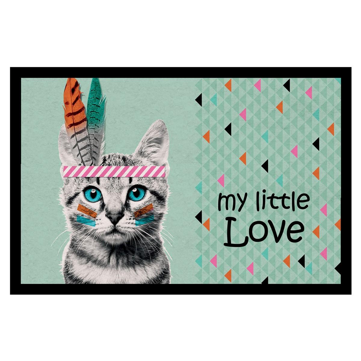 Πατάκι Εισόδου (40×60) Indian Cat 1740516