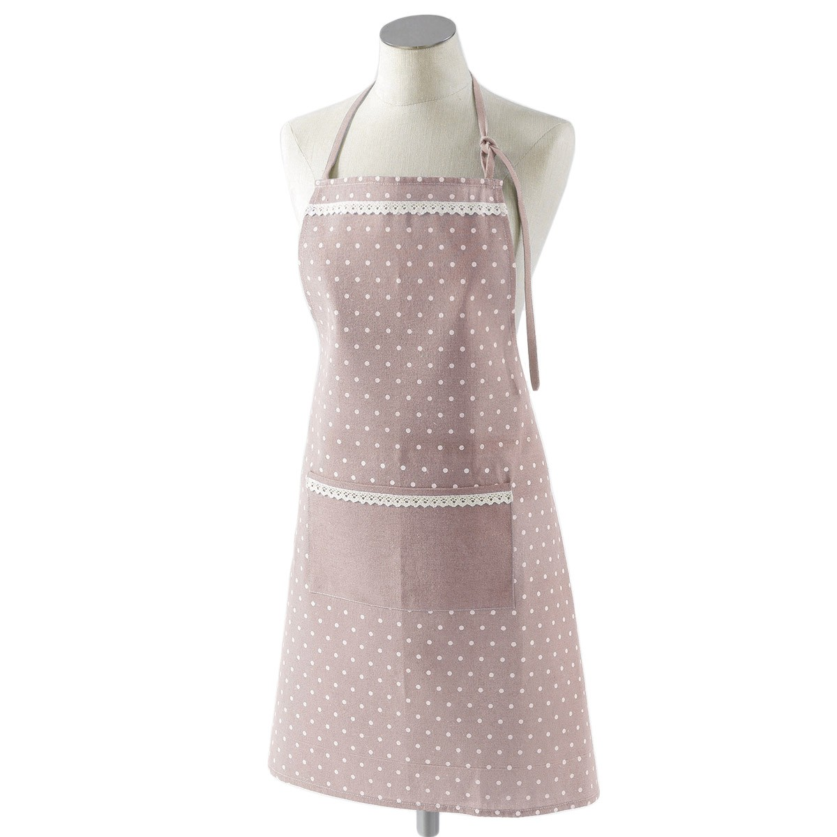 Ποδιά Κουζίνας Alicia Pink/White 3002750