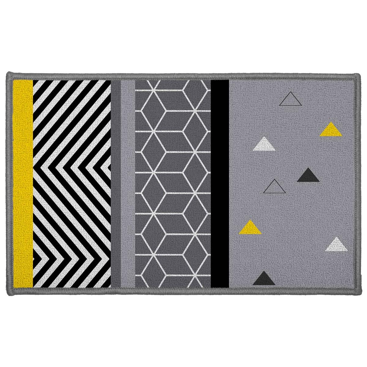 Πατάκι (50x80) Yellow Mix Grey 1740480 home   χαλιά   πατάκια