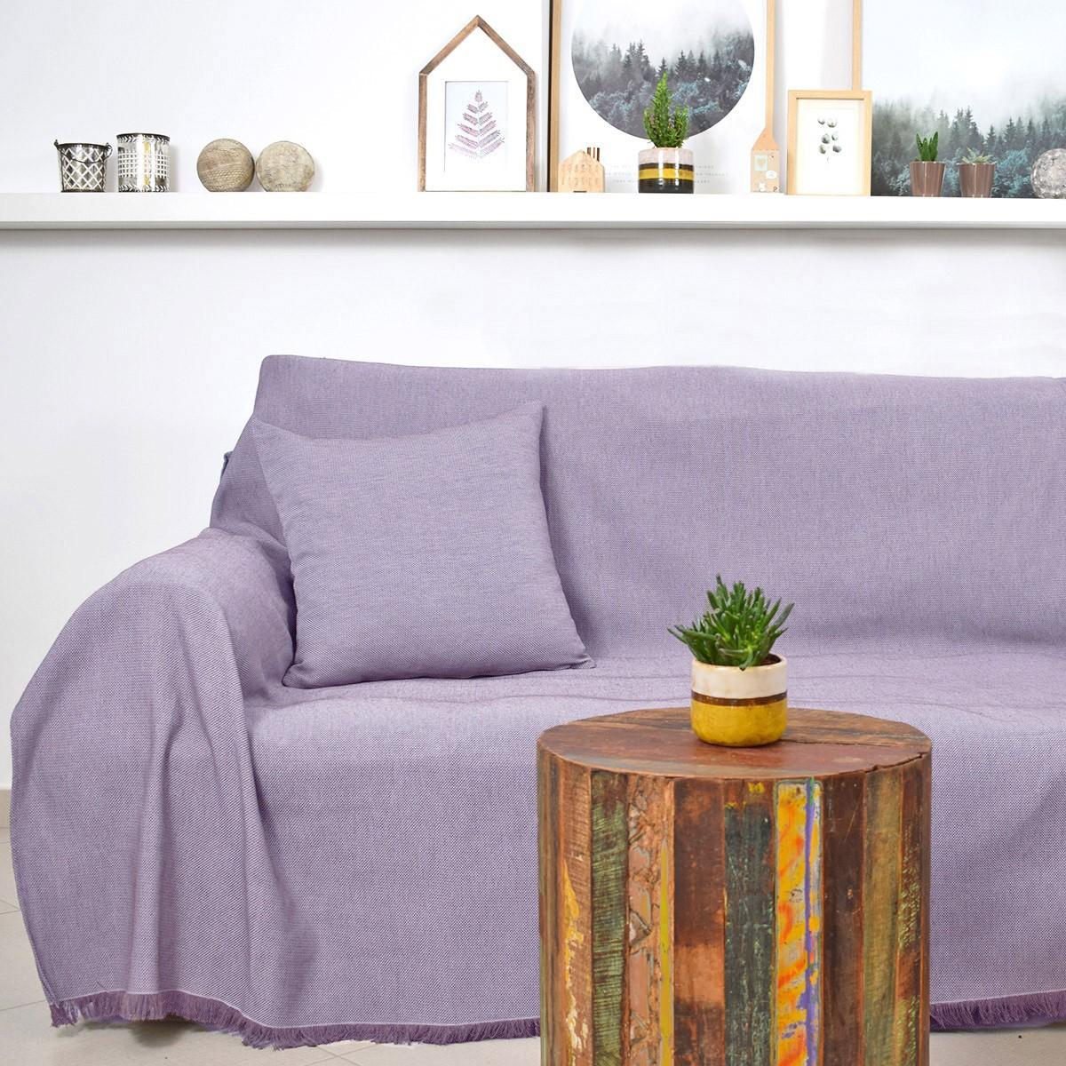 Ριχτάρι Διθέσιου (180×250) Ravelia Frugal Lilac 90228