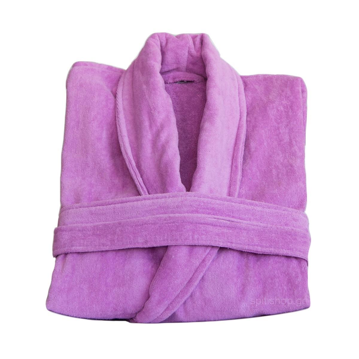 Μπουρνούζι Nima Spa Purple MEDIUM MEDIUM
