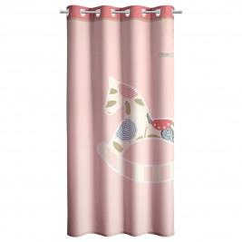 Παιδική Κουρτίνα (160x250) Με Τρουκς Saint Clair Toy Pink