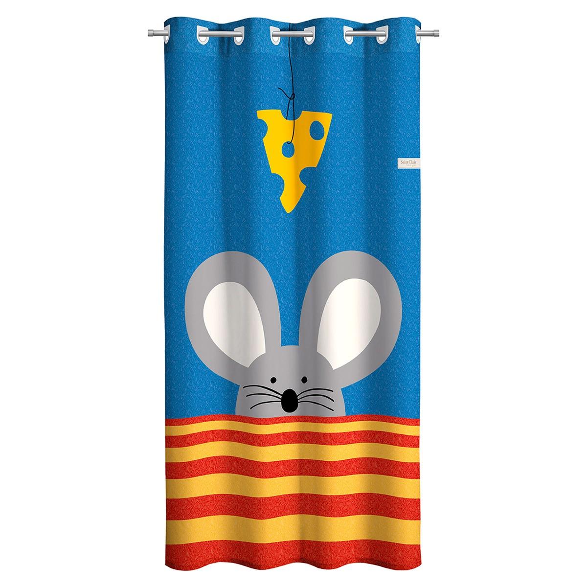 Παιδική Κουρτίνα (160x250) Saint Clair Mouse