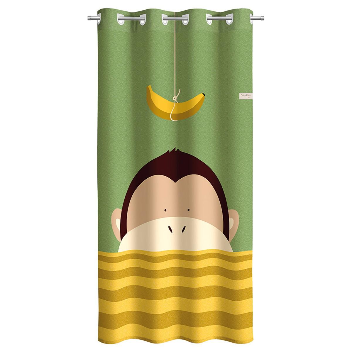 Παιδική Κουρτίνα (160x250) Saint Clair Banana