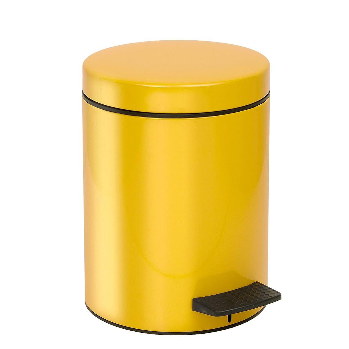 Κάδος Απορριμμάτων (20x28) PamCo 5Lit 96 Yellow