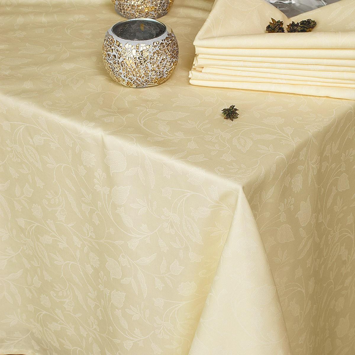 Πετσέτα Φαγητού (50×50) Rythmos Bensimon Ecru 80533
