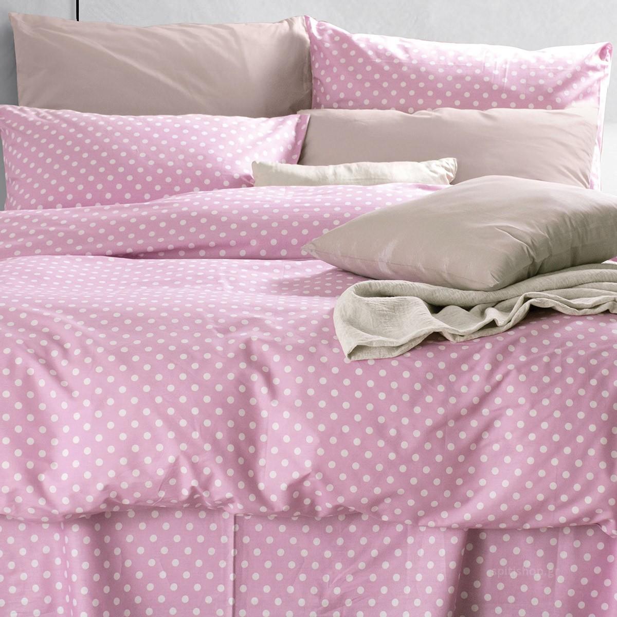 Ζεύγος Μαξιλαροθήκες Rythmos Diva Sassy New Pink