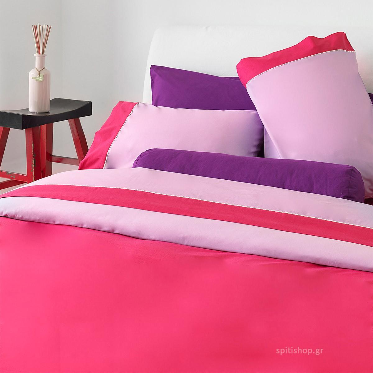Κουβερλί Υπέρδιπλο Sb Home Simi Lilac
