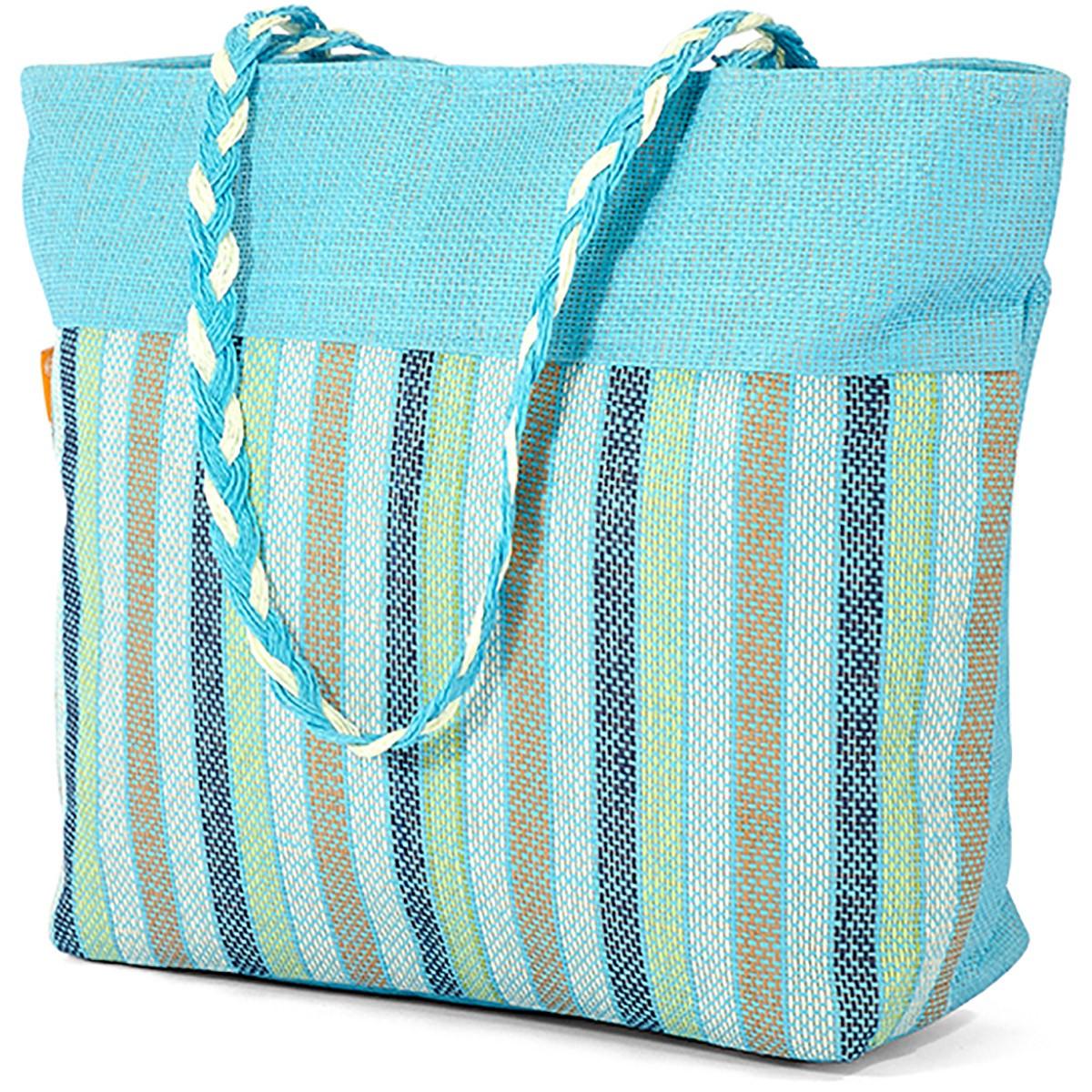 Ψάθινη Τσάντα Παραλίας Benzi 5070 Col2 home   θαλάσσης   τσάντες θαλάσσης