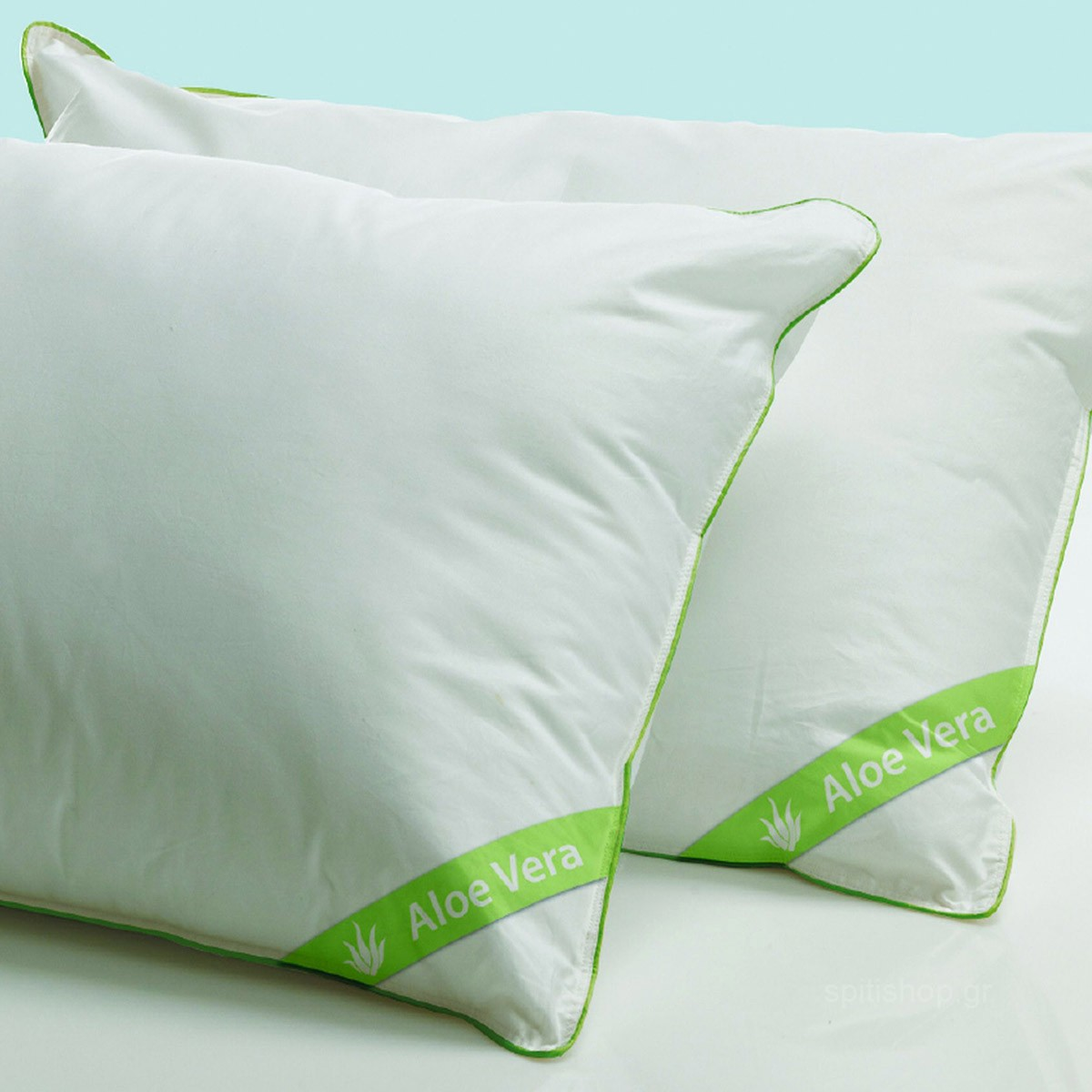 Ζεύγος Μαξιλάρια Ύπνου Palamaiki Aloe Vera