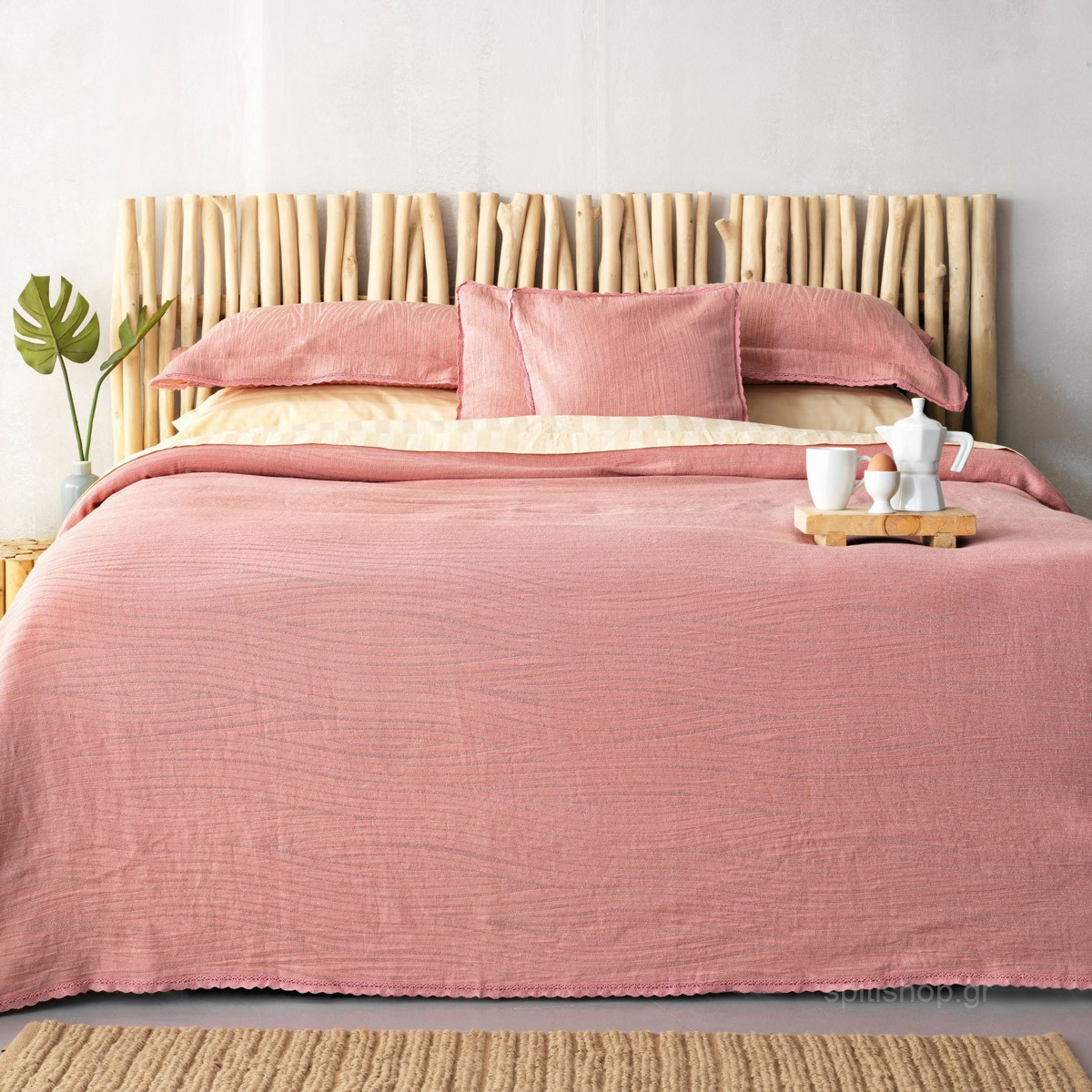 Διακοσμητική Μαξιλαροθήκη Palamaiki Daily 1099 Dark Pink home   κρεβατοκάμαρα   διακοσμητικά μαξιλάρια