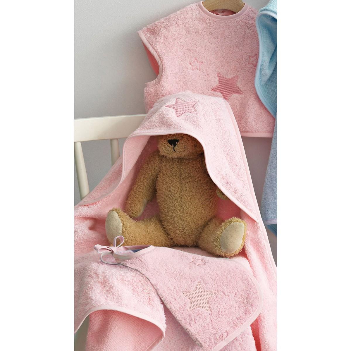 Βρεφικό Σετ Λουτρού Palamaiki Baby Joia 356 Pink