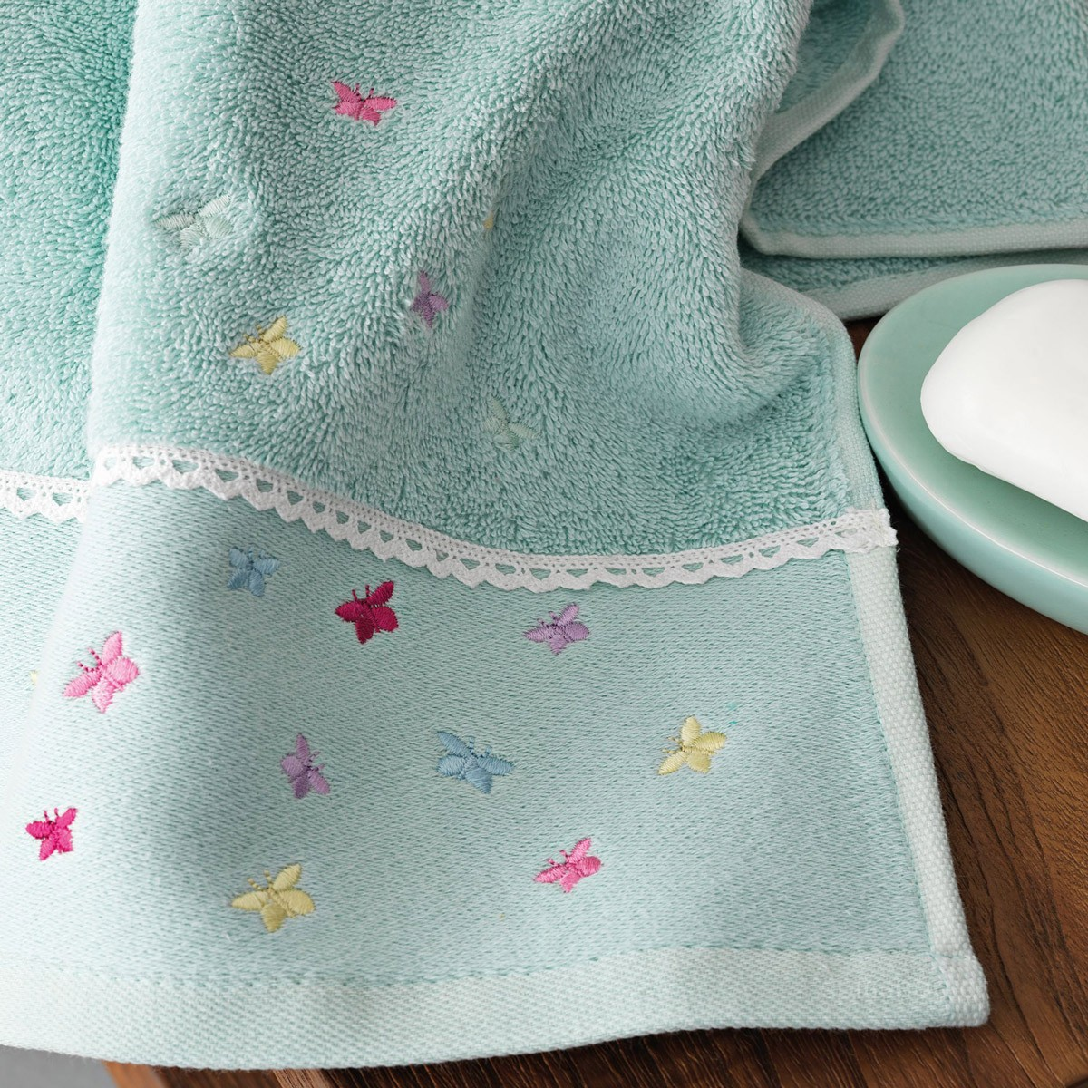 Πετσέτες Μπάνιου (Σετ 3τμχ) Palamaiki Rina