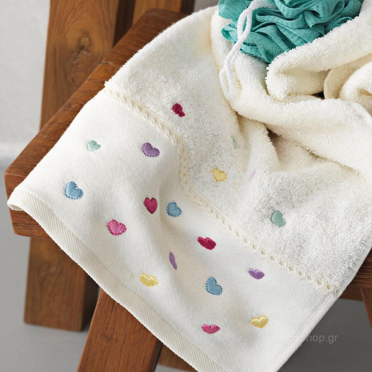 Πετσέτες Μπάνιου (Σετ 3τμχ) Palamaiki Sophie home   παιδικά   πετσέτες παιδικές