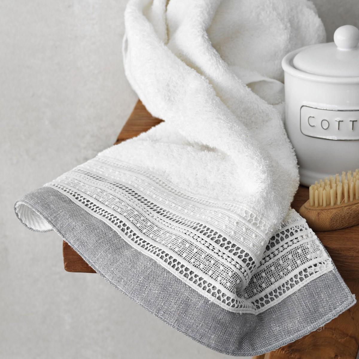 Πετσέτες Μπάνιου (Σετ 3τμχ) Palamaiki Liam