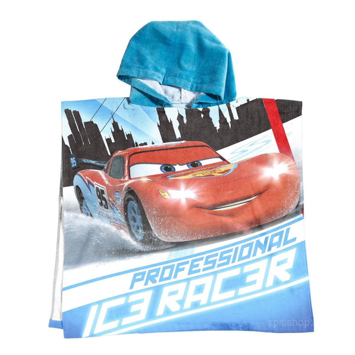 Παιδικό Πόντσο Palamaiki Disney Cars Racers
