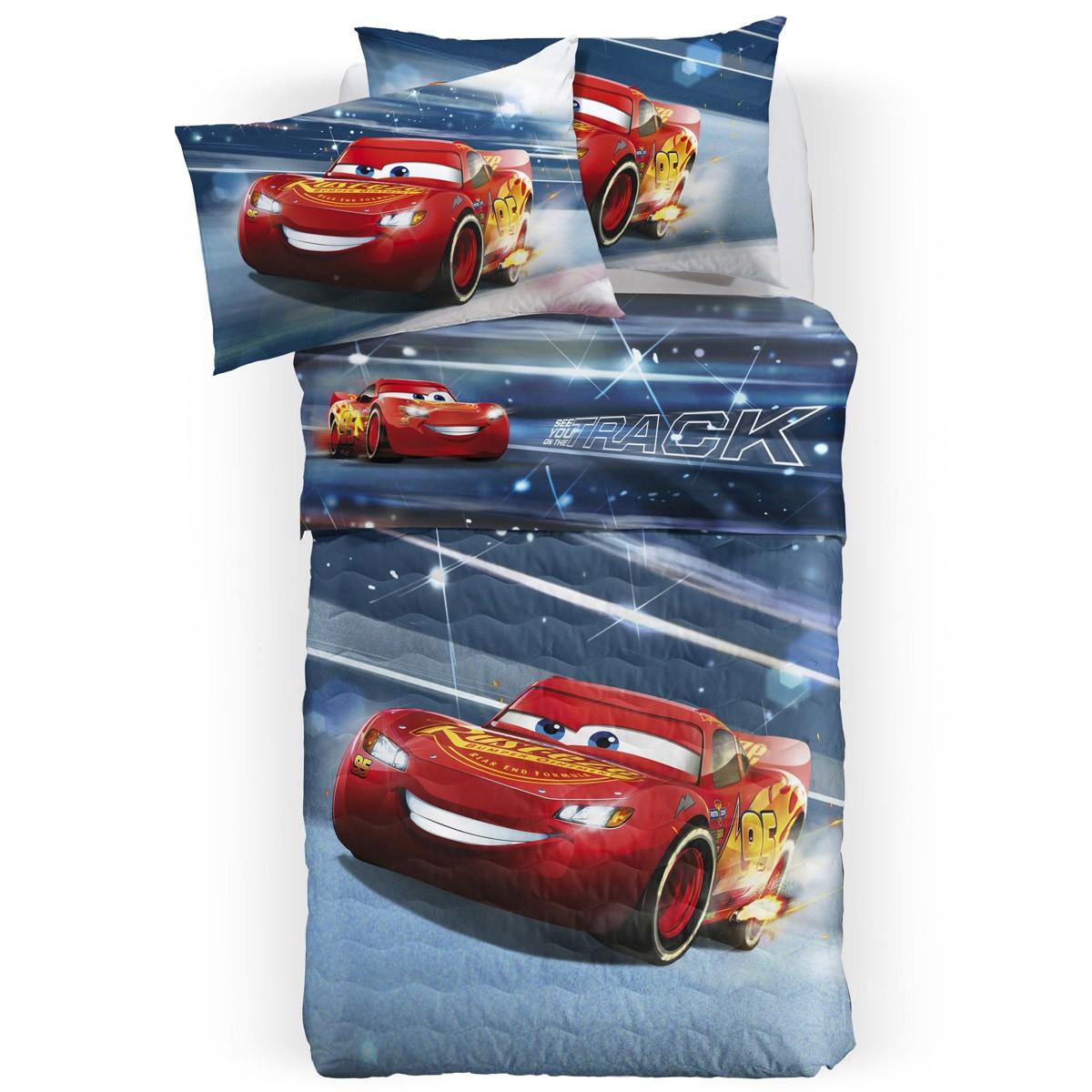Σεντόνια Μονά (Σετ) Palamaiki Disney Cars 3