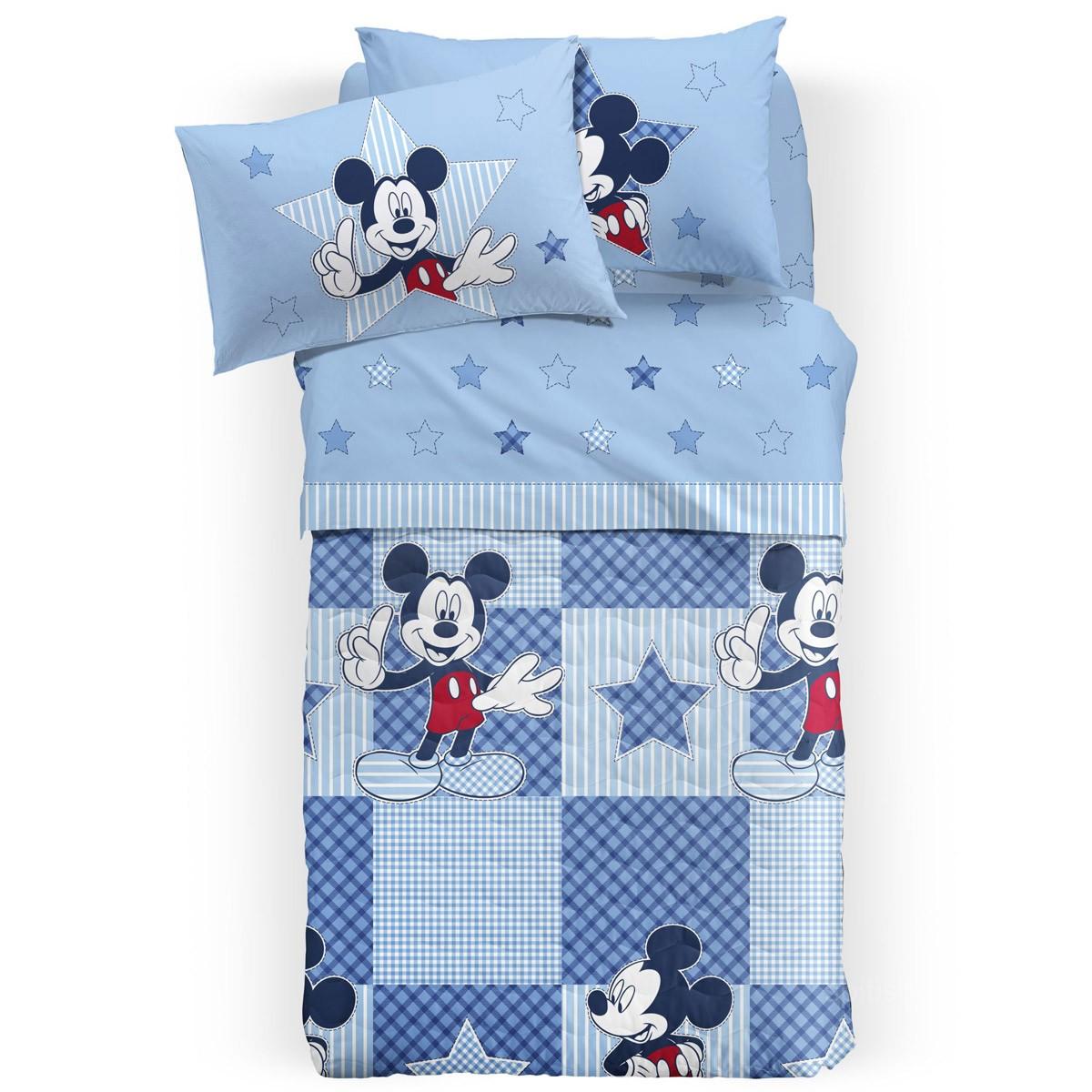 Κουβερλί Μονό Palamaiki Disney Mickey Patchwork