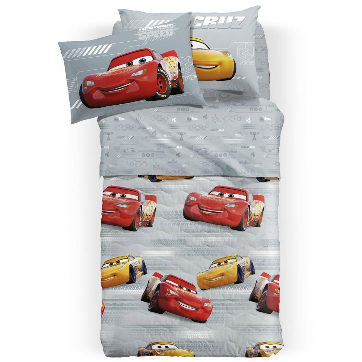 Σεντόνια Μονά (Σετ) Palamaiki Disney Cars Turbo