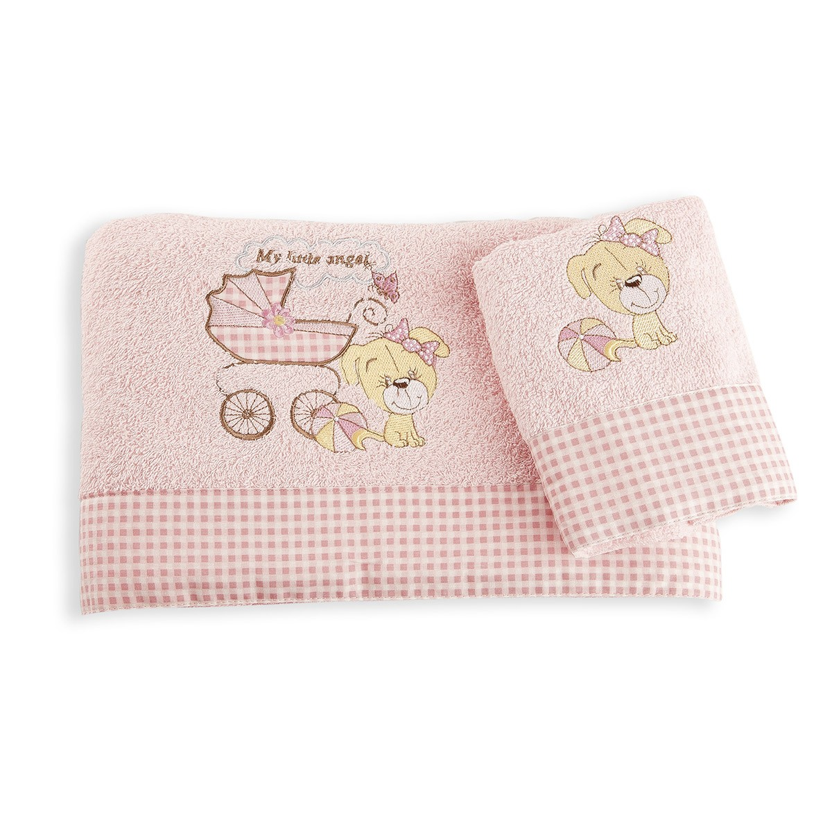 Βρεφικές Πετσέτες (Σετ 2τμχ) Dim Collection My Angel 07