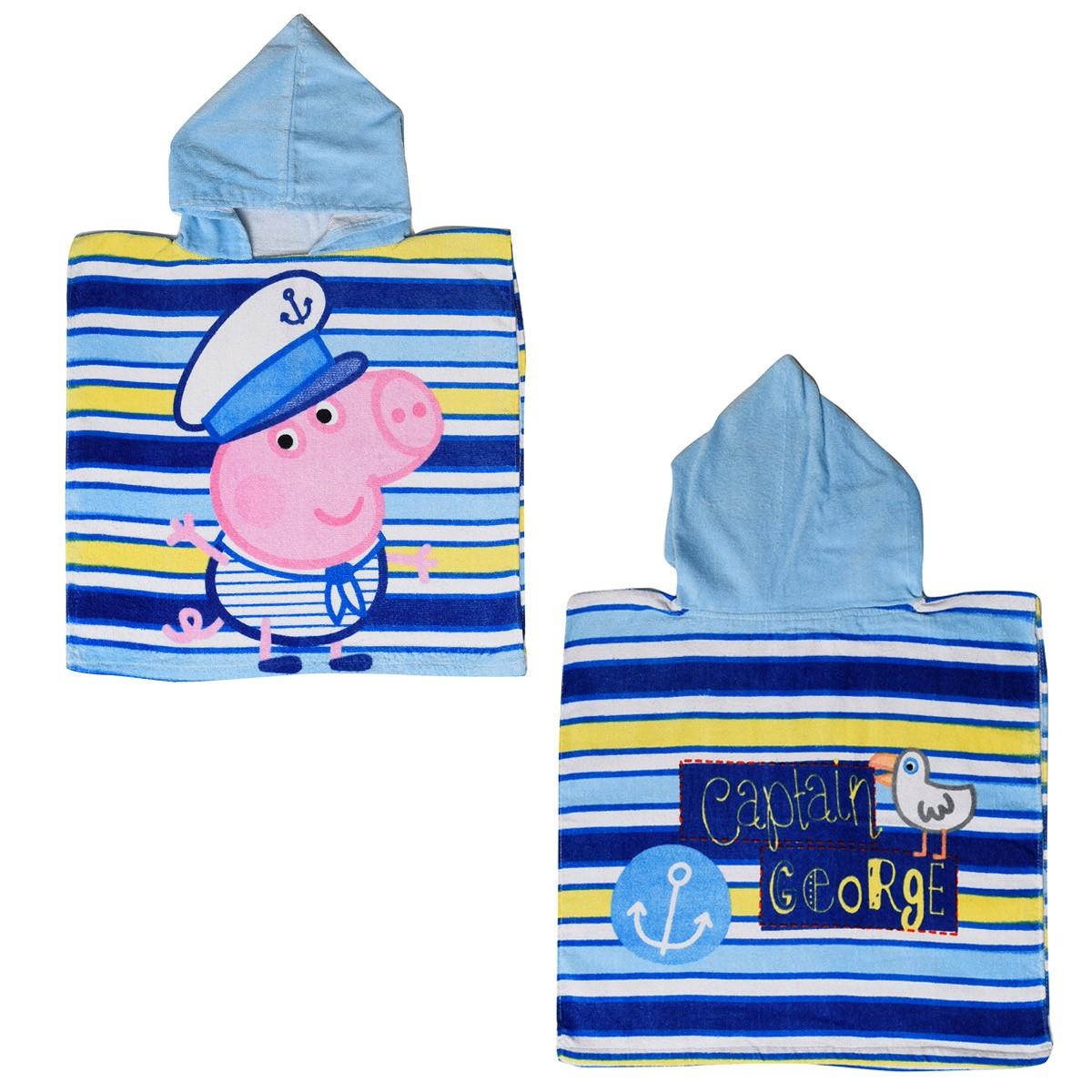 Παιδικό Πόντσο Dim Collection Peppa 01 Μπλε