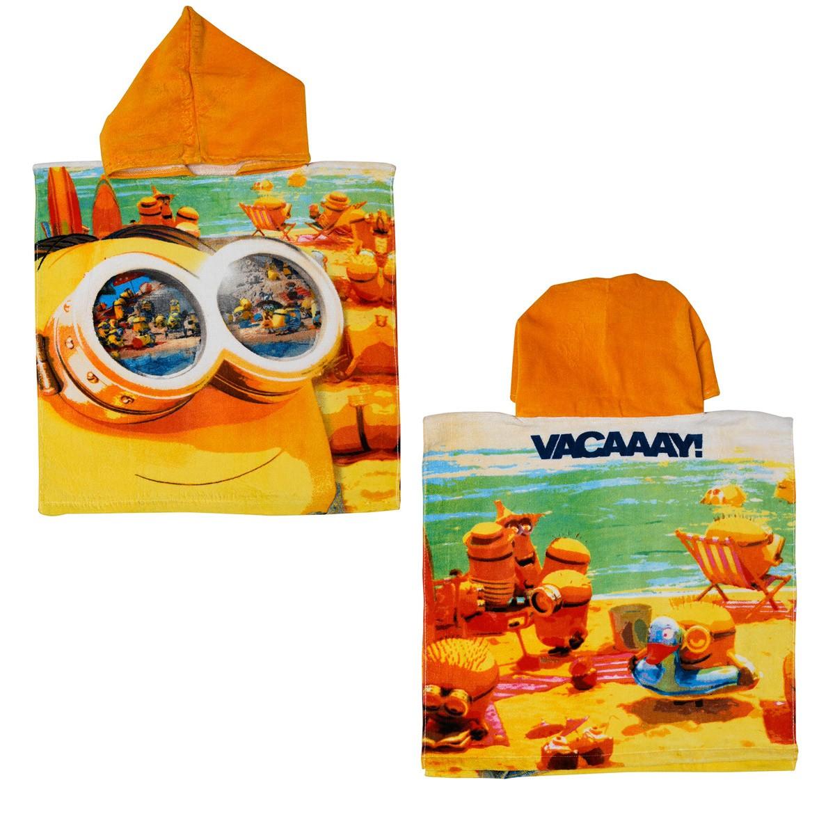 Παιδικό Πόντσο Dim Collection Minions 02