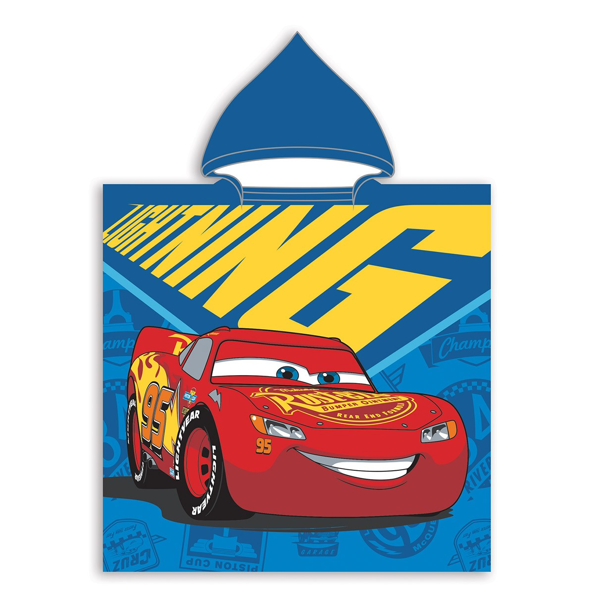 Παιδικό Πόντσο Dim Collection Cars 01