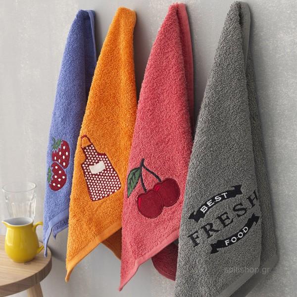 Πετσέτες Κουζίνας (Σετ 4τμχ) Palamaiki KT010