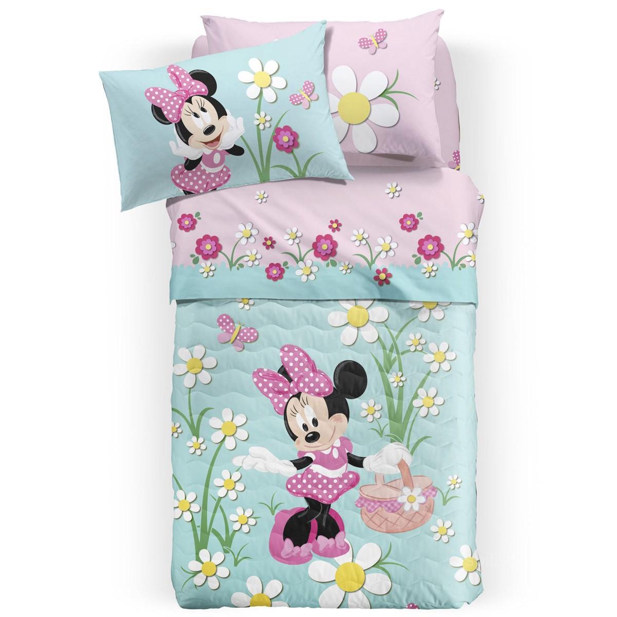 Σεντόνια Μονά (Σετ) Palamaiki Disney Minnie Country