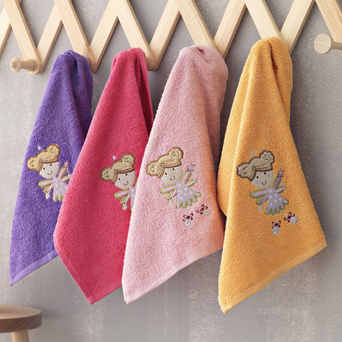 Παιδικές Πετσέτες Χεριών (Σετ 4τμχ) Palamaiki Kids Lulu/2 home   παιδικά   πετσέτες παιδικές