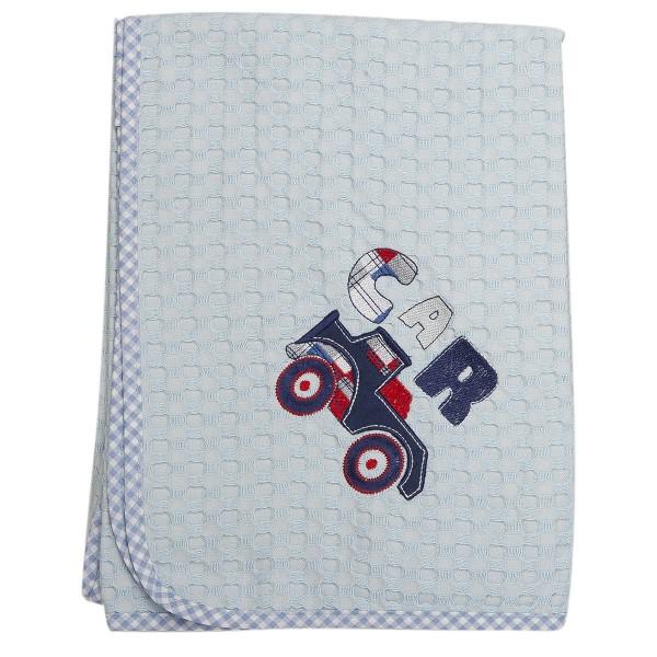 Κουβέρτα Πικέ Κούνιας Dimcol Car 29