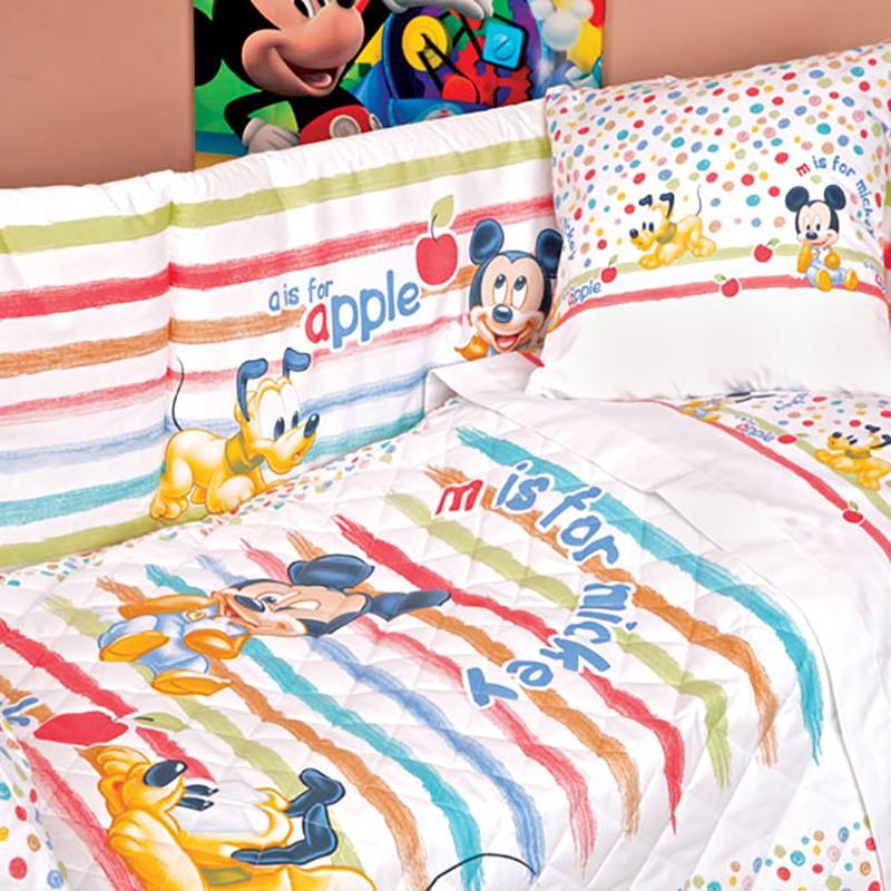 Σετ Κούνιας 5τμχ Palamaiki Baby Disney Steline