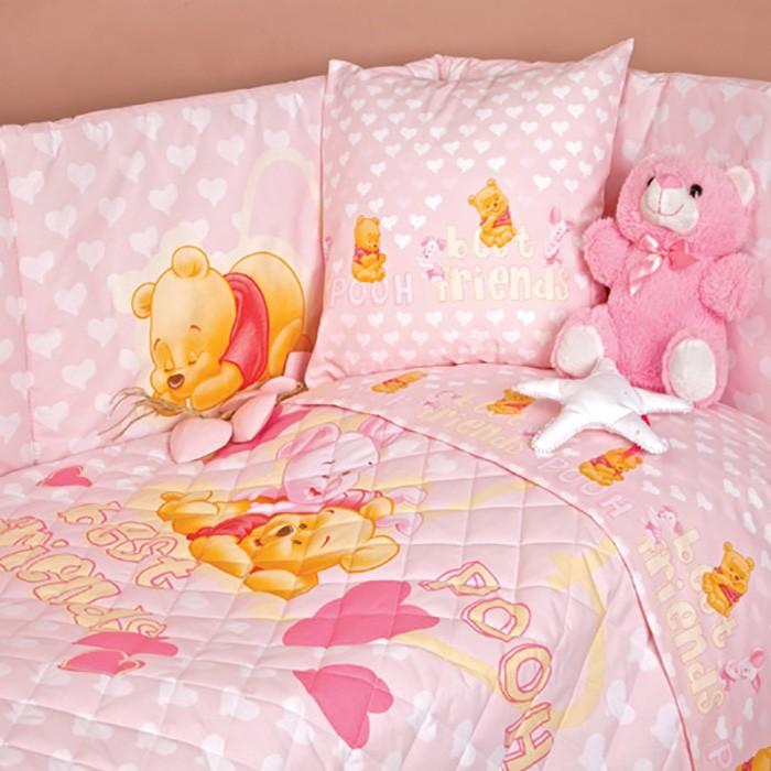 Σετ Κούνιας 5τμχ Palamaiki Baby Disney Pooh Cuori