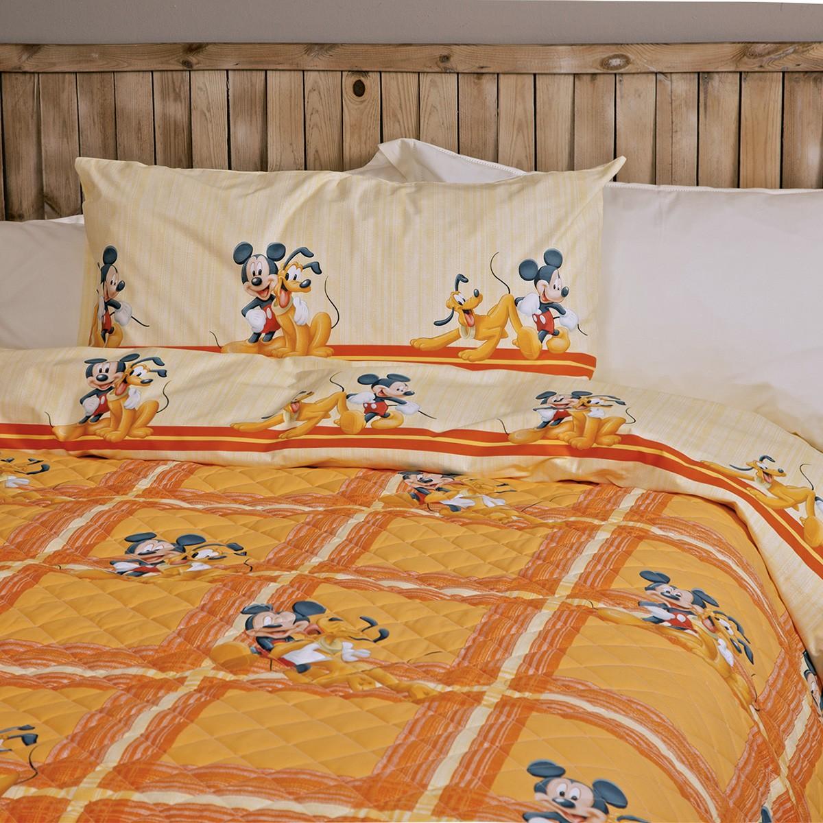 Κουβερλί + Σεντόνια Μονά Palamaiki Disney Allegria