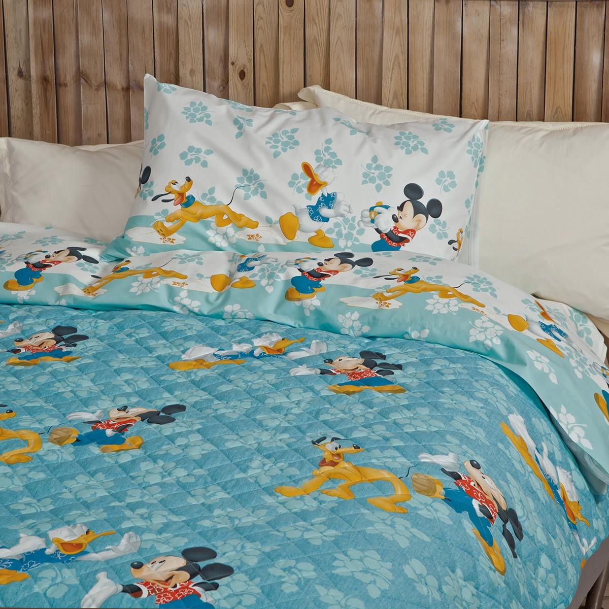 Κουβερλί + Σεντόνια Μονά Palamaiki Disney Hawai