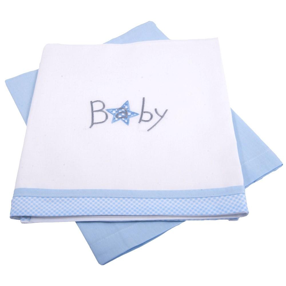 Σεντόνια Λίκνου (Σετ) Κόσμος Του Μωρού 0230 Baby Dog