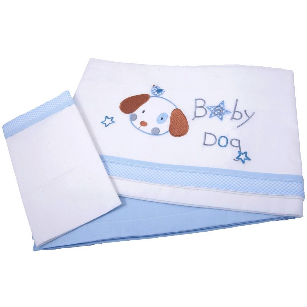 Σεντόνια Κούνιας (Σετ) Κόσμος Του Μωρού 0240 Baby Dog